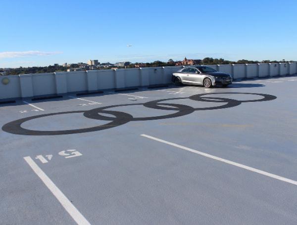 Rooftop garage